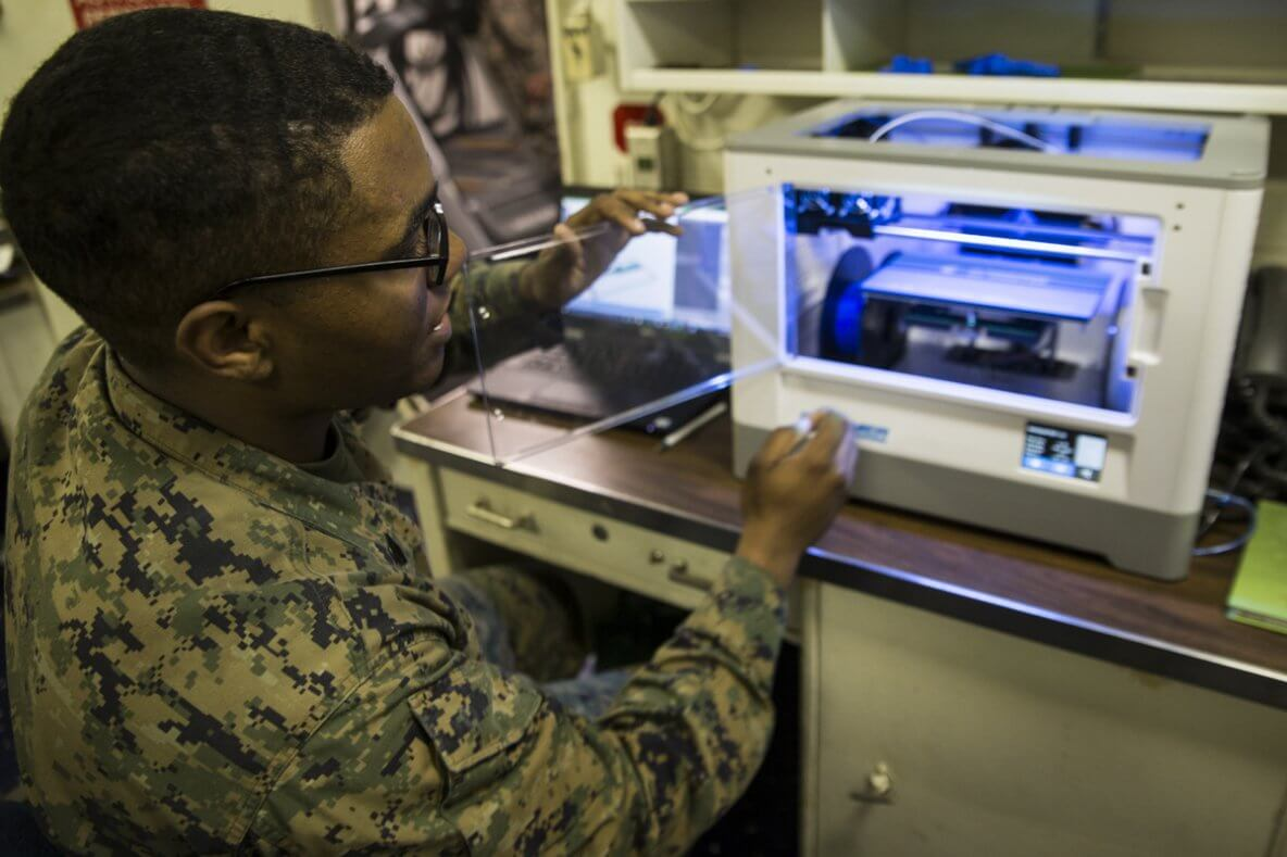 3D Printing Military Applications