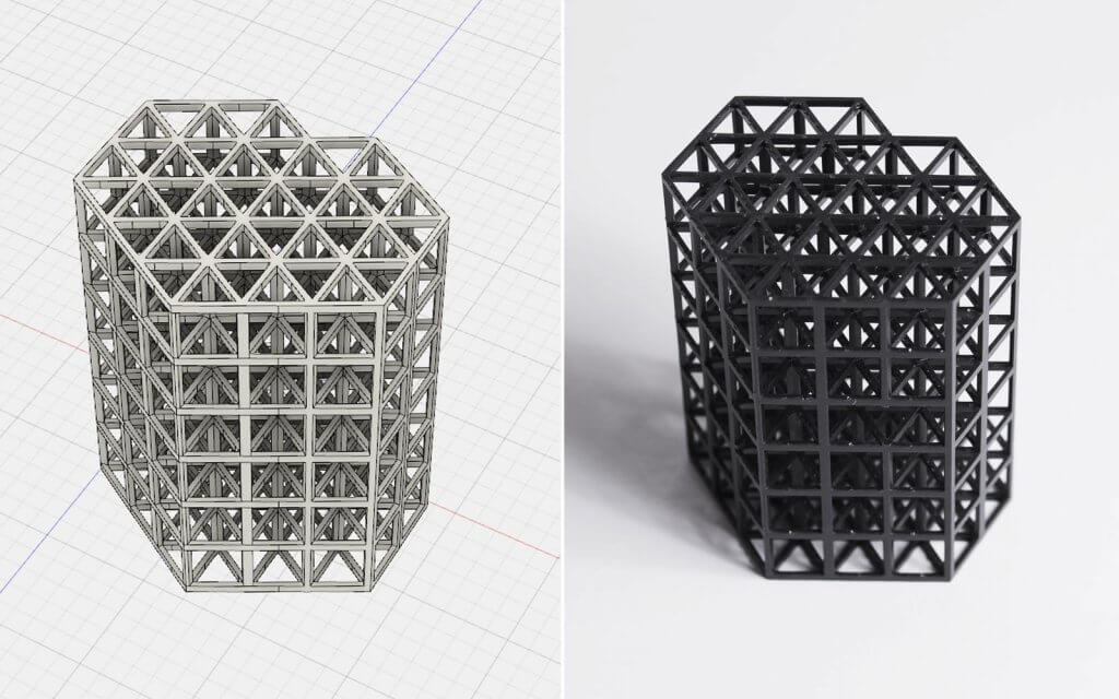 3D Triangles and Computer-Aided Design