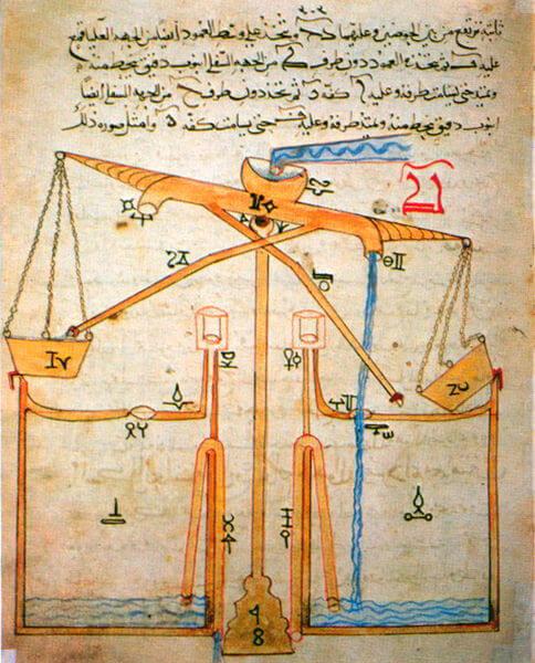 Al-Jazari water device