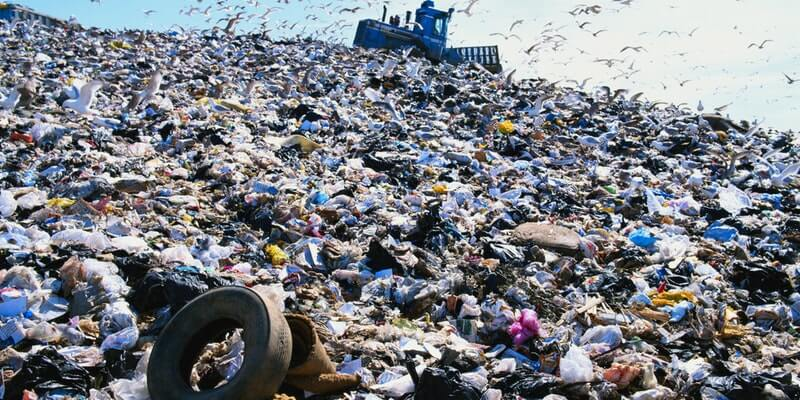 Humans generate billions of tons of garbage everyday.