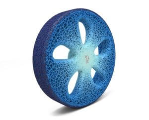 Eco-friendly 3D printed tire