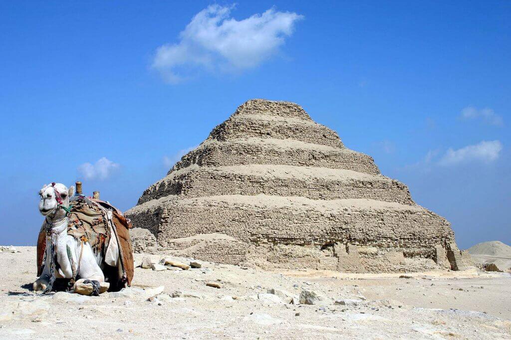 The Step Pyramid in Saqqara