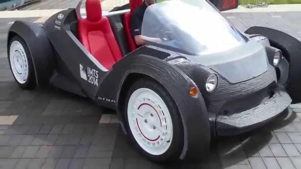 3D printed car - Strati