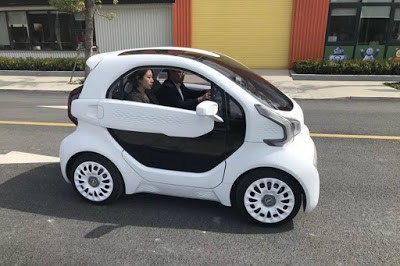 3D printed car -LSEV
