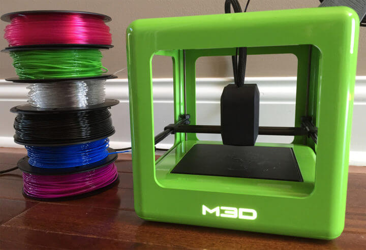 m3d micro and printer filaments