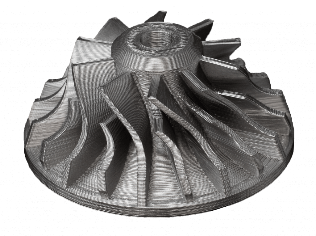 Metal impeller